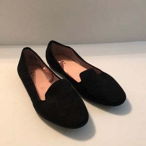 (H&M's) Black flat Loafers Shoes